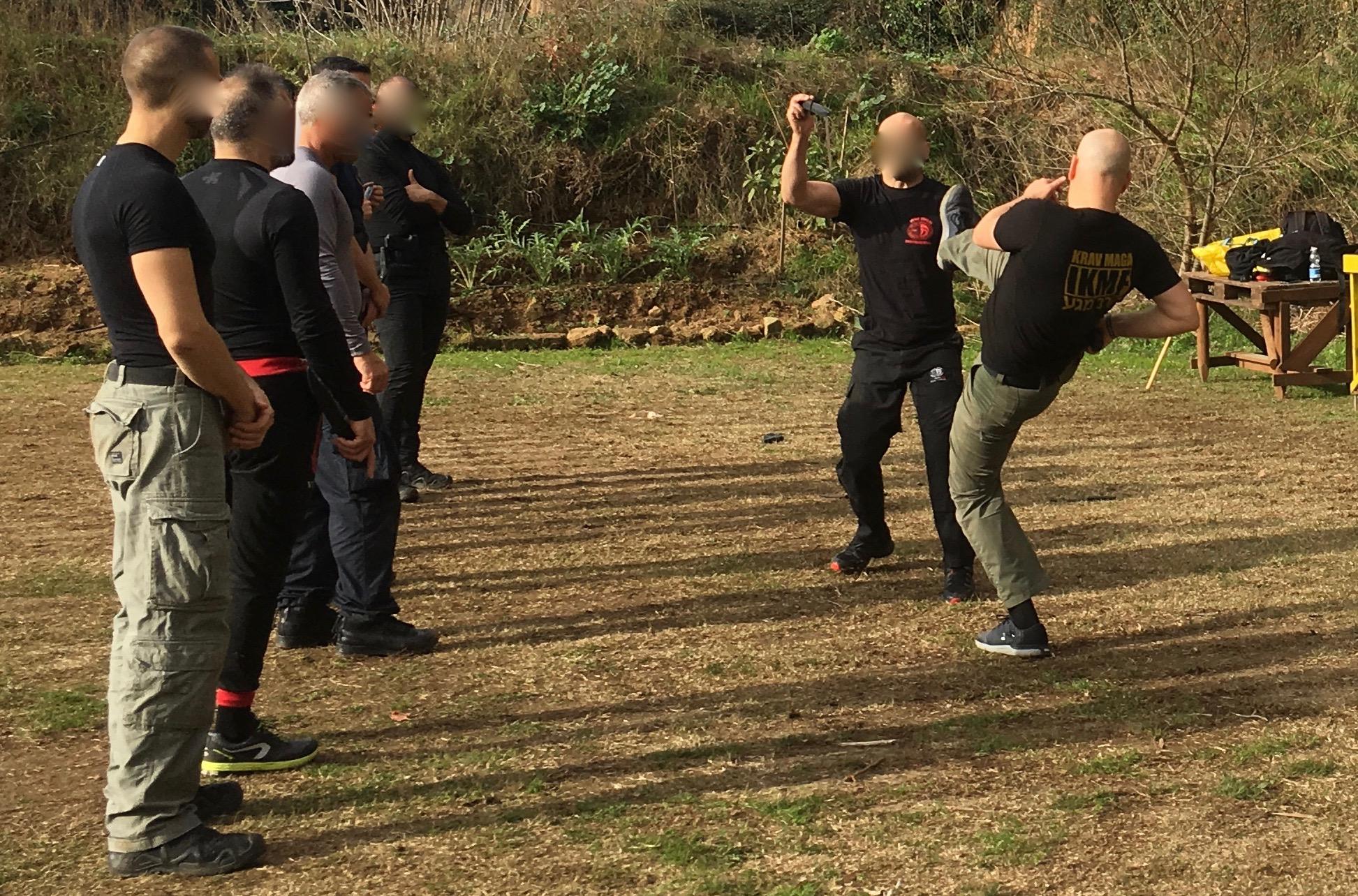 IKMF Krav Maga training Carabinieri API 2018